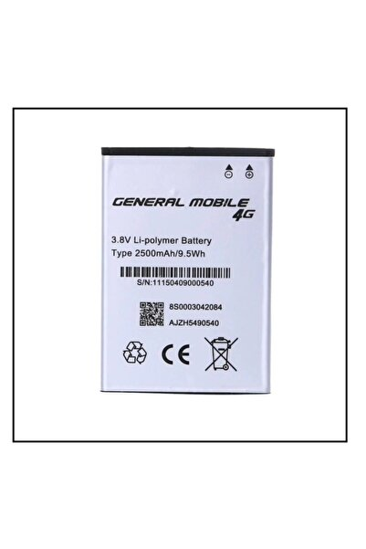 Discovery General Mobile 4g Batarya Pil