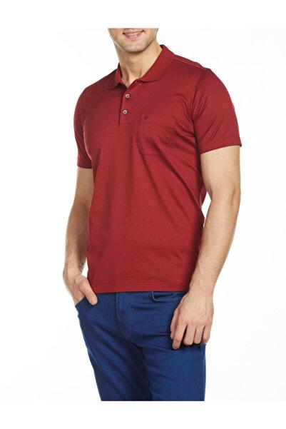 Bisse Erkek Bordo Polo Yaka T-shirt