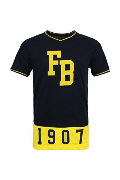 Fenerbahçe Erkek Lacivert Kolej 1907  Spor T-Shirt