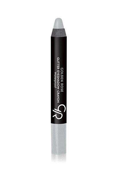 Golden Rose Suya Dayanıklı Simli Kalem Göz Farı - Glitter Eyeshadow Crayon Waterproof No: 52