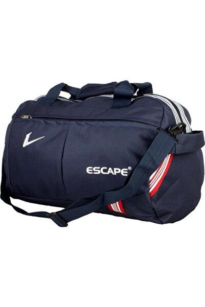 ESCAPE 112 Yeni Sezon Büyük Boy Spor Seyahat Çantası Lacivert