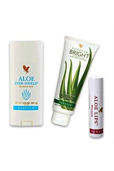 Forever Living Özel Set Aloe Ever Shield Deodorant Stick+brıght D