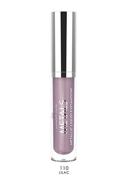 Golden Rose Likit Metalik Göz Farı - Metals Metallic Liquid Eyeshadow No:110 Lilac 8691190137601