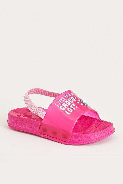 Kız Çocuk Baskılı Sandalet
