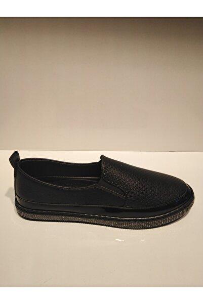 Pandora Kadın Siyah Günlük Casual Taşlı Spor Ayakkabı 1055