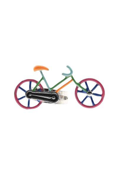 Cadının Dükkanı Kız Çocuk Yeşil Ayarlanabilir Bisiklet Model Yüzük