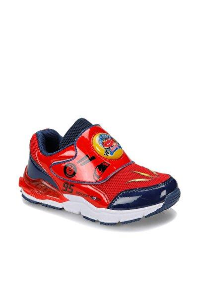 CARS 91.jackı.b Kırmızı Erkek Çocuk Spor Işıklı Ayakkabı