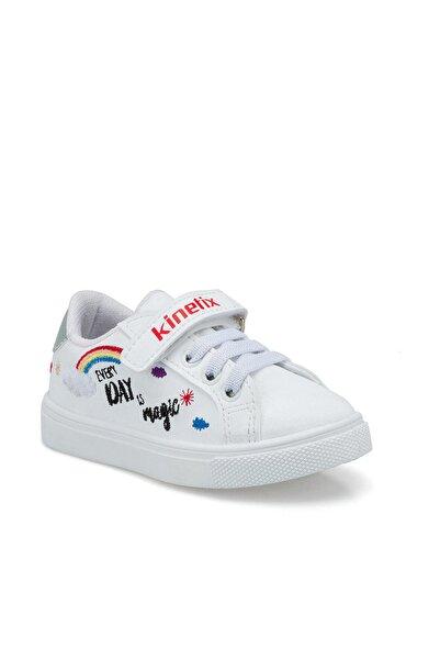 Kinetix Ganj Beyaz Kız Çocuk Sneaker Ayakkabı