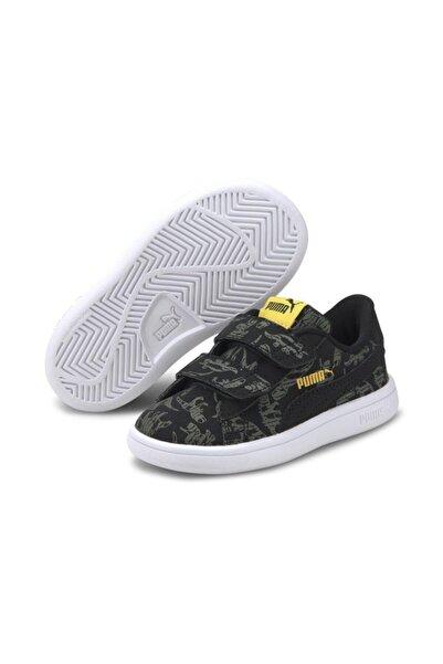 Puma SMASH V2 ARCHEO V IN Siyah Erkek Çocuk Sneaker Ayakkabı 101119298