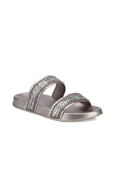 Polaris 400382.Z Gümüş Kadın Plaj Terliği 100505546