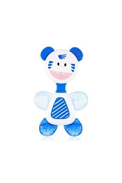 Bebedor B-518 Çıngıraklı Sulu Diş Kaşıyıcı / Dişlik Mavi