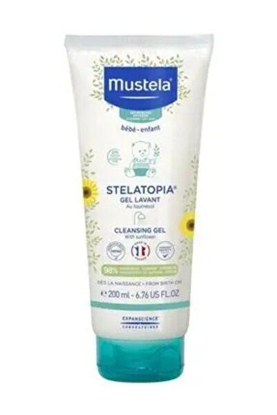 Mustela Stelatopia Gel Lavant Cleansing  200 ml Çok Kuru Ciltler Için Gel BSL00354