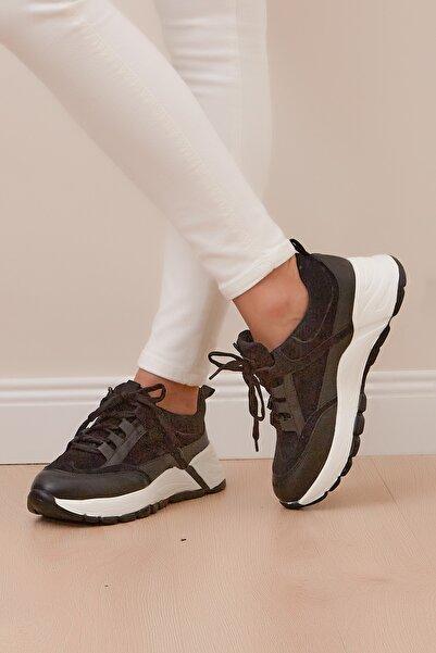 Shoes Time Kadın Siyah Spor Ayakkabı 20y 315