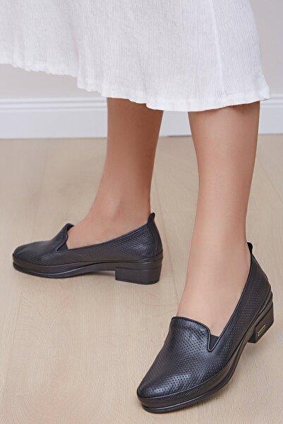 Shoes Time Kadın Siyah Günlük Ayakkabı 20y 106
