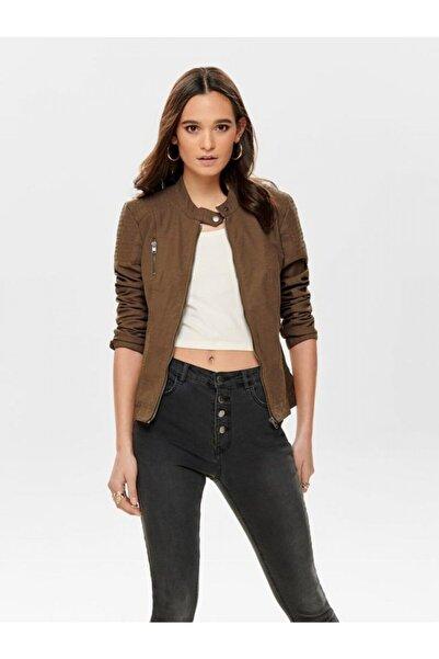 Only Kadın Ceket Onlava Faux Leather Bıker Otw 15102997