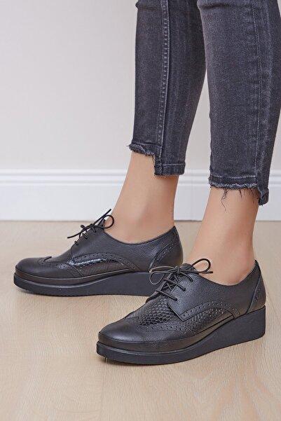 Shoes Time Kadın Siyah Casual  Ayakkabı 19k 125