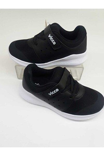 Vicco Erkek Çocuk Siyah Ortopedik Spor Ayakkabı