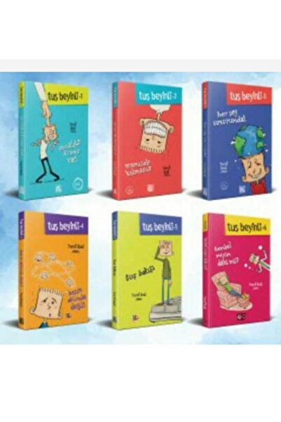 Genç Nesil Tuş Beyinli Tüm Serisi 6 Kitap Set Yusuf Asal