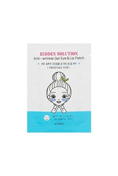 Missha A'PIEU Hidden Solution Anti-wrinkle Gel Eye & Lip Patch