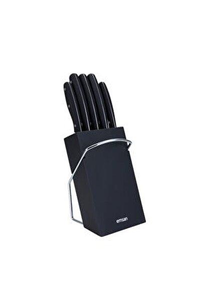 Yeni Mia 6 Parça Bıçak Seti Siyah