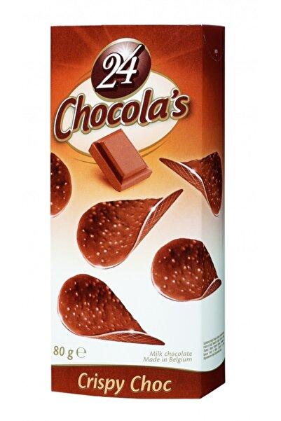Sütlü Yaprak Halinde Çikolata 80g