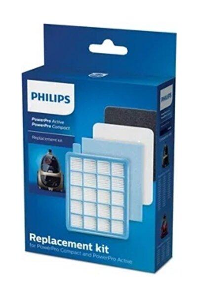 Philips Phılıps Fc 8475/01 Powerpro Compact Orijinal Hepa Filtre Seti
