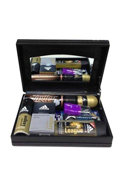 Adidas Originals Adidas League 7li  Deri Kutu Tıraş Tk. Tırnak Seti Hediye