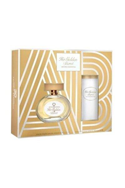 Antonio Banderas Her Golden Secret  Bayan 80 Ml Edt +150 Ml Deodorant