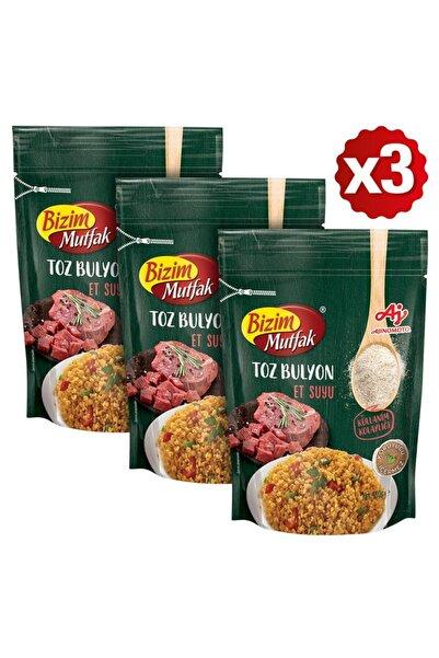 Bizim Mutfak Toz Et Suyu Bulyon 150 Gr 3'Lü Paket