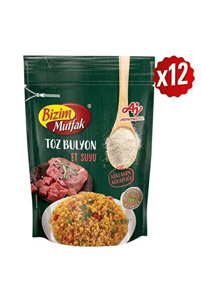 Bizim Mutfak Toz Et Suyu Bulyon 150 Gr 12'Li Paket