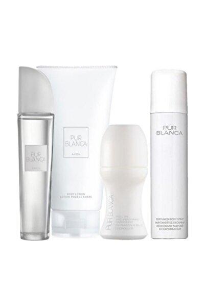 AVON Pur Blanca Edt 4'lü Kadın Parfüm Seti 8681298982906