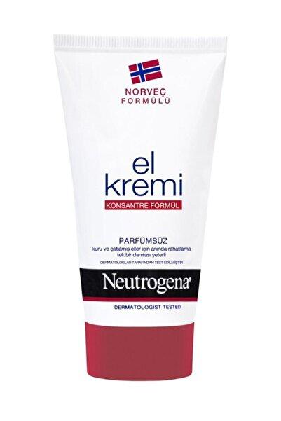 Neutrogena Norveç Formülü El Kremi Parfümsüz 75 Ml