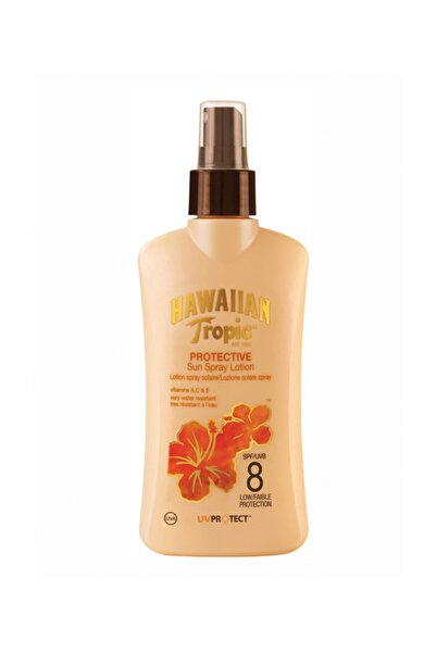 Hawaiian Tropic Güneş Koruyucu Sprey Losyon - Satin Protection Spf 8 200 ml 5099821001285