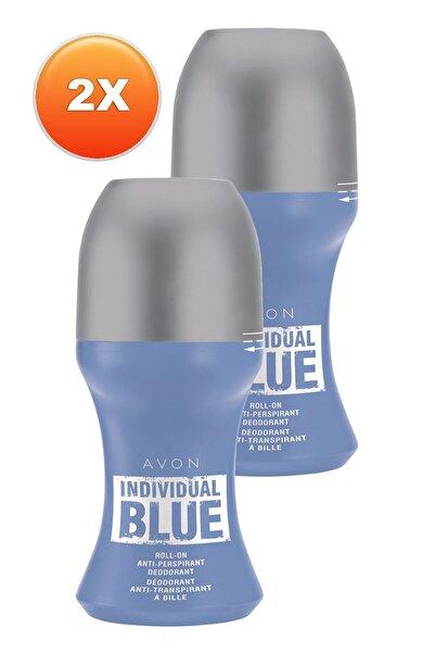 AVON Individual Blue Erkek Rollon 50 ml 2'li Set 5050000105453