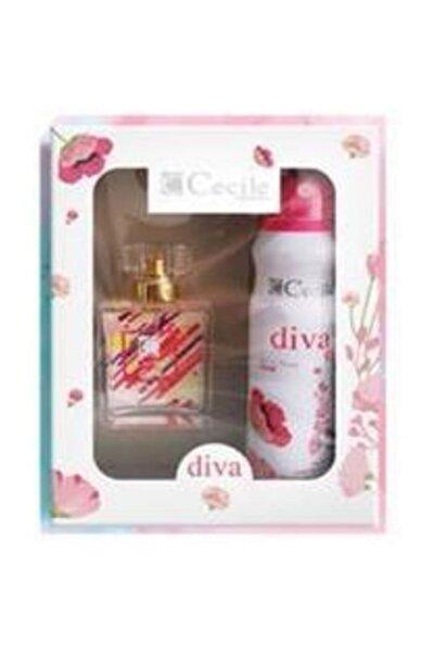 Cecile Diva Parfüm Seti