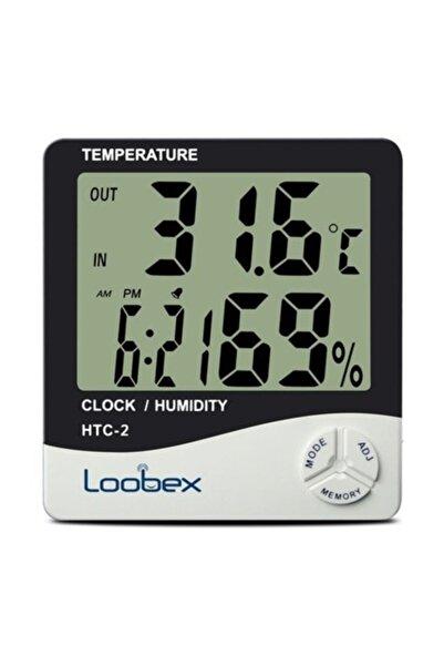 Loobex Dijital Nem ve Sıcaklık Ölçer Higrometre