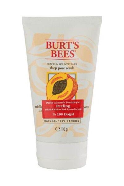 Burts Bees %100 Doğal Gözenek Temizleyici Peeling Şeftali & Willow Bark 110 g 792850891005