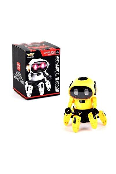 Canda Oyuncak Can Oyuncak Işıklı Pilli Robot-SARI