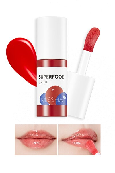 Missha Super Food Lip Oil Berry