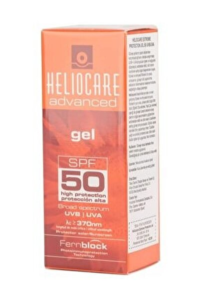 Advanced SPF50 Gel 50 ml 8470001684011