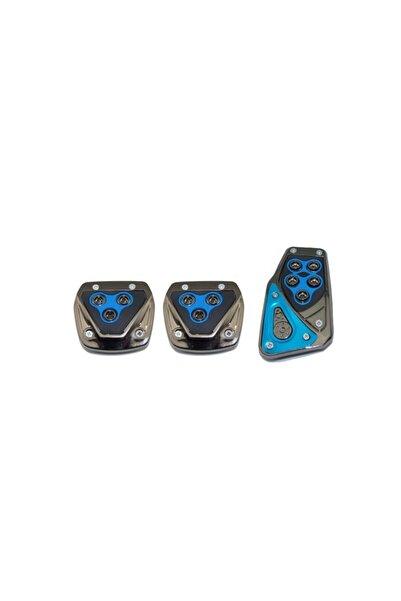 Tvet Manuel Vites Krom Mavi Pedal Seti T37920
