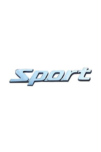 Şanlı Sport Plastik Krom Arma Logo Sticker