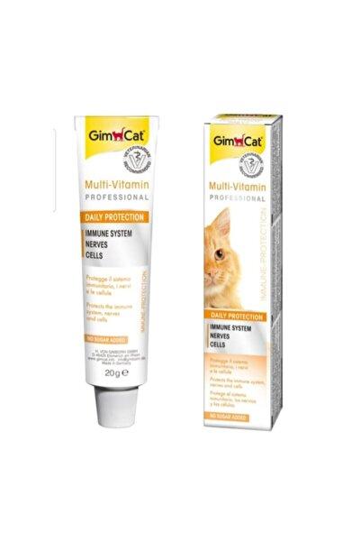 Gimcat MultiVitamin - Kediler İçin Vitamin Macunu 20 Gr