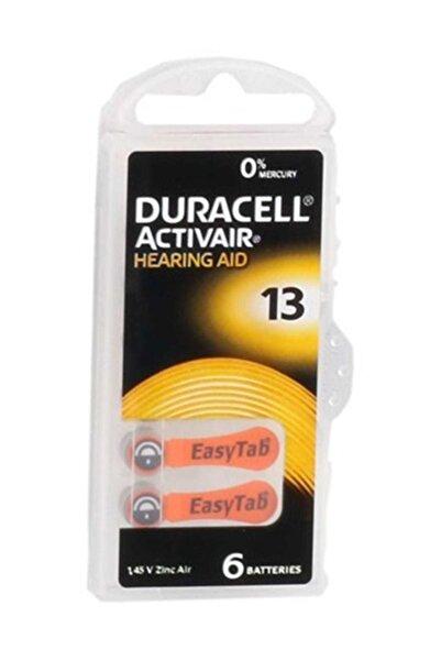 Duracell Numara Kulaklık Pili 6'lı Paket 13
