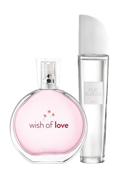 AVON Wish of Love + Pur Blanca Kadın Parfüm Seti 8681298983385
