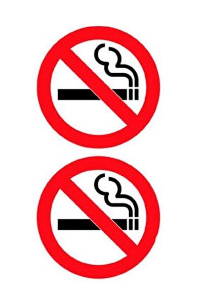 Sigara İçilmez Sticker Damla Çıkartma-Etiket 3D 2 Ad