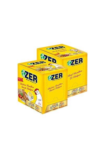 ZER Bulyon 20 Poşet Tavuk + 20 Poşet Et Toz Bulyon