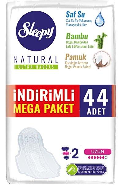 Sleepy Natural Ultra Hassas Uzun Mega Paket 44 Adet