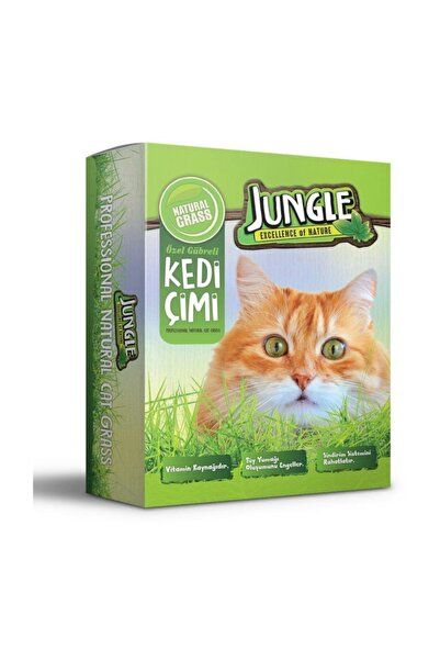 Jungle Kedi Çimi Seti