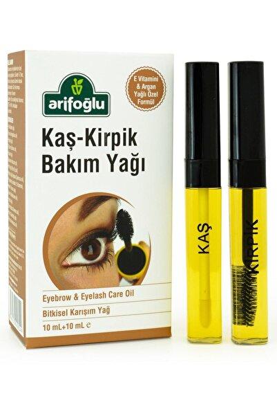 Arifoğlu Kaş Kirpik Bakım Yağı  | Doğal E Vitaminli 10+10 ml